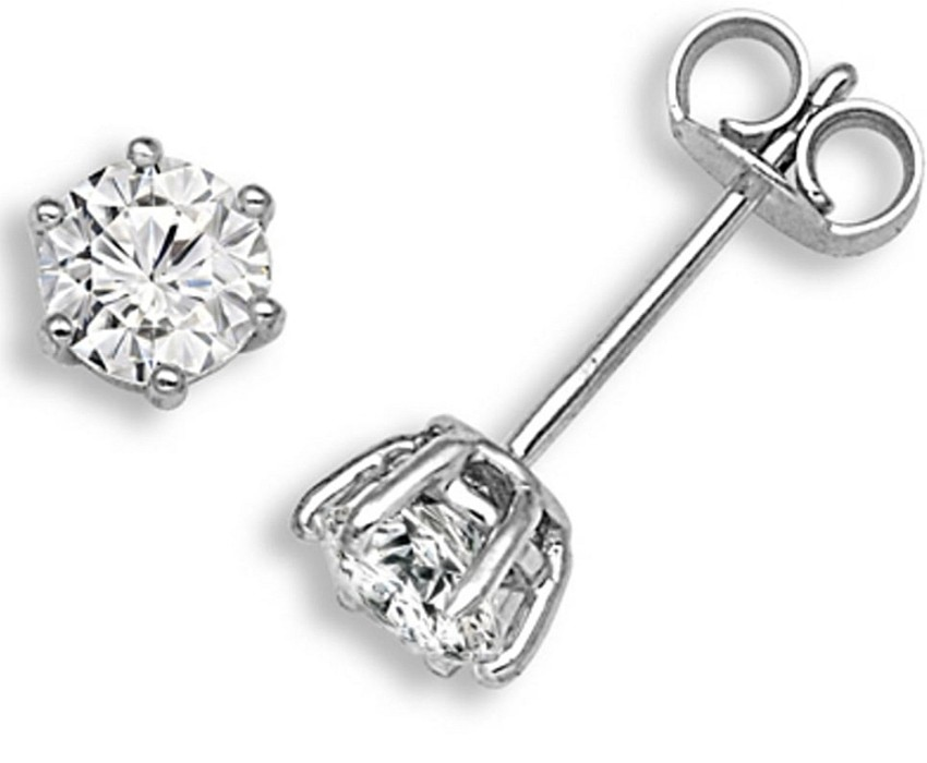 Bespoke 0.80ct Diamond Soliatire Earrings