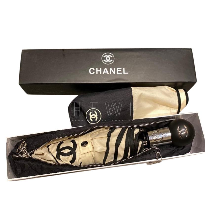 Chanel Two-Tone Umbrella