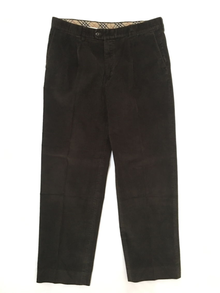 Burberry Brown Cordurouy Trousers