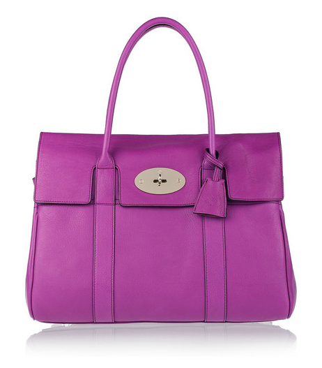Mulberry Violet Bayswater Tote