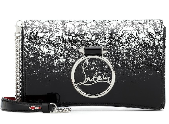 Christian Louboutin Rubylou Patent Leather Crossbody Bag