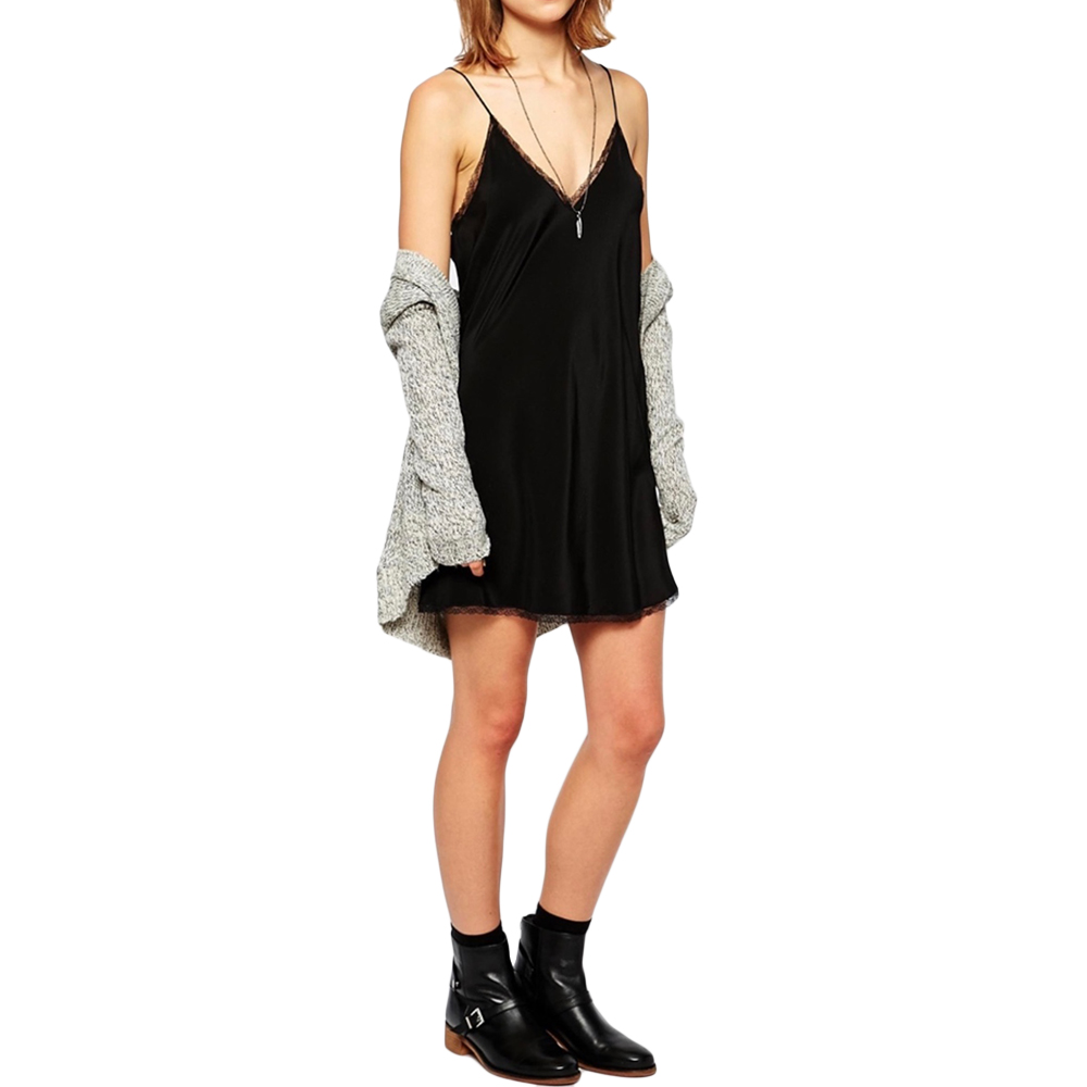 Zadig & Volatire Black Camisole Dress