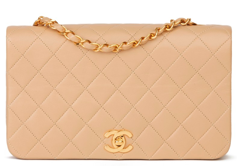 Chanel Vintage Quilted Leather Classic Flap Bag