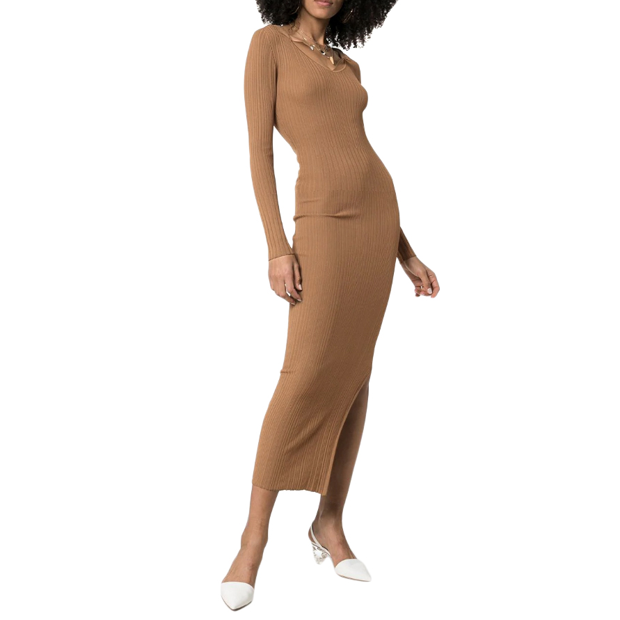 Toteme Arezzo Dress in Nougat