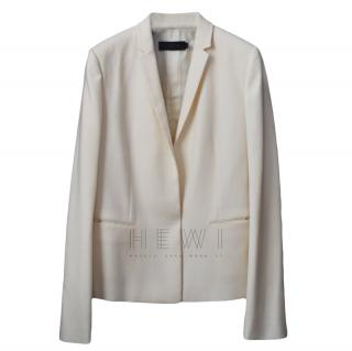 Calvin Klein Collection White Tailored Blazer