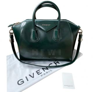Givenchy Forest Green Antigona Tote Bag