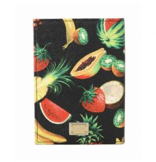 Dolce & Gabbana tropical print passport holder