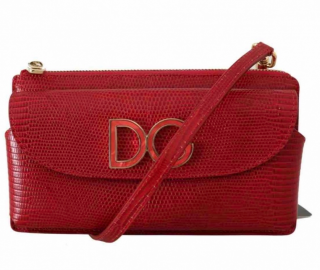 Dolce & Gabbana DG Logo leather crossbody bag