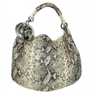 Jimmy Choo Sky Hobo Natural Bag