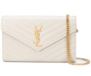 Saint Laurent Monogram Envelope Bag