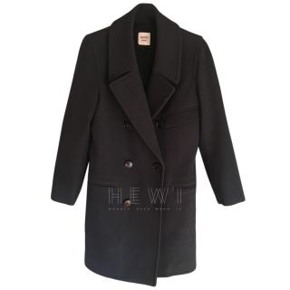 Hermes Wool Double Breasted Coat
