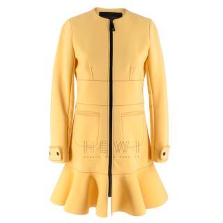 Louis Vuitton Long-Sleeve Zipped A-line Dress