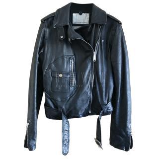 Ralph Lauren Denim & Supply Leather Biker Jacket