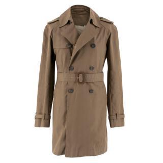J. Lindeberg Brown Belted Trench Coat