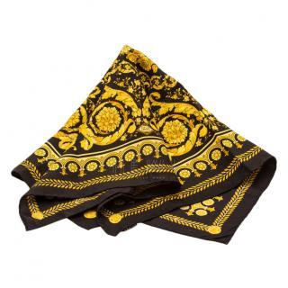 Atelier Versace large foulard silk scarf