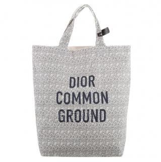 Dior Cruise '20 Wax Cotton La Temperance Canvas Tote