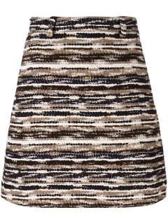 Carven Tweed Mini Skirt