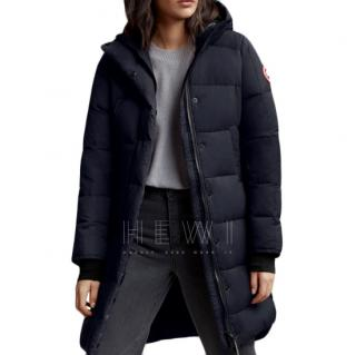 Canada Goose Women's Alliston Coat in Navy