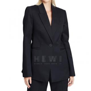 Camilla And Marc Rhea Single-Breasted Black Wool Jacket