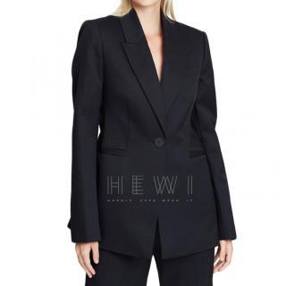 Camilla And Marc Rhea Single-Breasted Black Wool Jacket