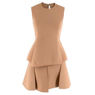 Alexander Wang Beige Peplum top and skirt