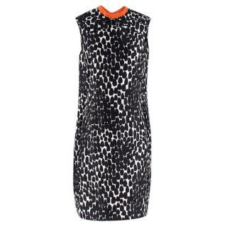 Gucci Black Spotted Midi Dress