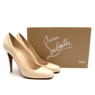 Christian Louboutin Decollete 328 Patent Pumps