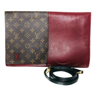Louis Vuitton Monogram & Burgundy Shoulder bag