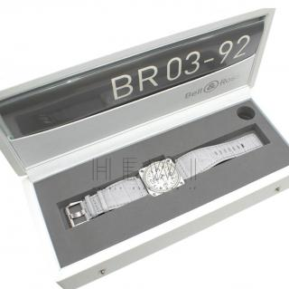 Bell & Ross Grey and White BR 03-92 Watch
