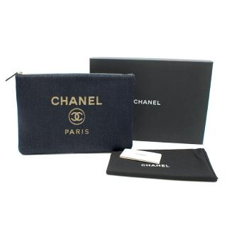 Chanel Deauville Denim O'Case
