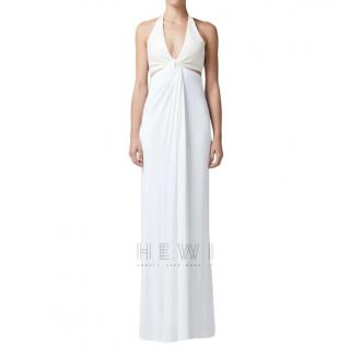 Galvan London White Eclipse Gown