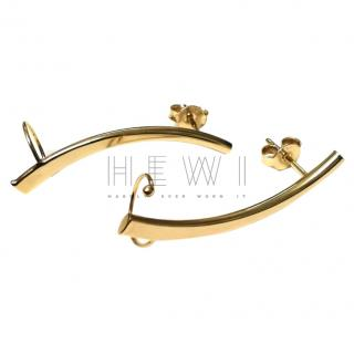 Bespoke 9ct Gold Ear Climbers
