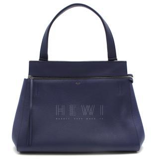 Celine Edge Indigo Blue Tote Bag