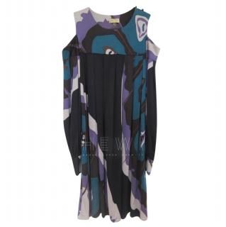 Issa Silk Jersey Printed Dress