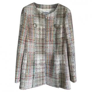 Chanel Cuba Collection Tweed Longline Blazer