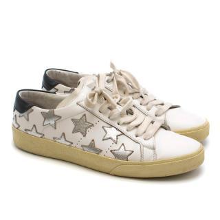 Saint Laurent SL/06 Metallic California Sneakers