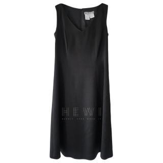 Max Mara Fit & Flare Black Dress
