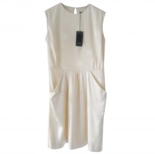 Paul Smith Cream Spotted Shift Dress