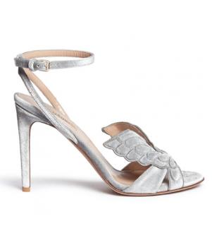 Valentino 'angelicouture' Angel Wing Velvet Sandals