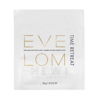 Eve Lom Time Retreat Face & Neck Set of 6 Sheet Masks