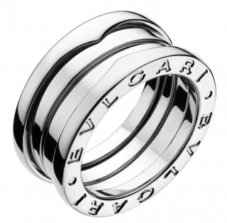 Bvlgari B.Zero1 3-Band White Gold Ring