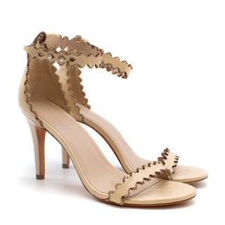 Zimmermann Lasercut Scalloped Sandals