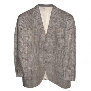 Loewe Check Linen Jacket