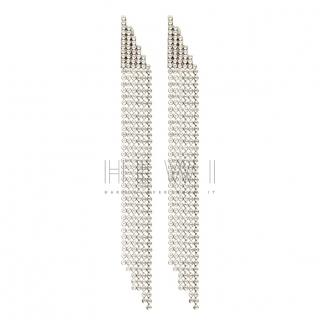 Saint Laurent Crystal drop earrings