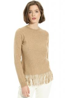 MaxMara fringed hem sweater