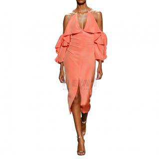 Cushnie Et Ochs Papaya Aura Dress