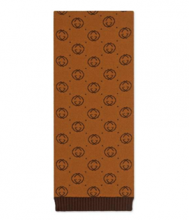 Gucci Dapper Dan Monogram Wool Scarf