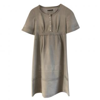 Burberry Prorsum Grey Silk Dress