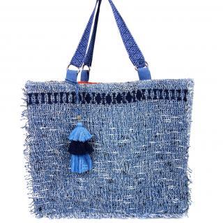 Ramy Brook Handmade Crochet Tote Bag