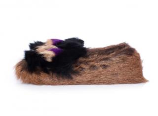 Prada Goat & Calf Hair Tassel Loafers